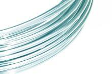 Dekorační drát hliníkový - pastelově modrý