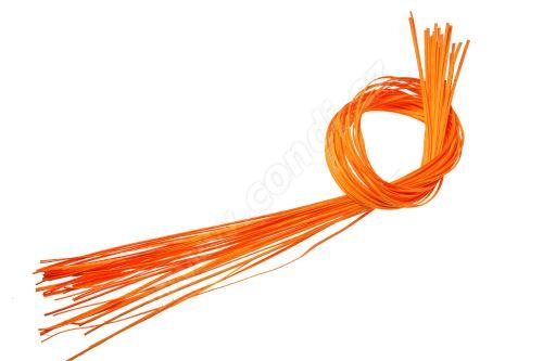 Pedig štípaný plochý 1m světle oranžový