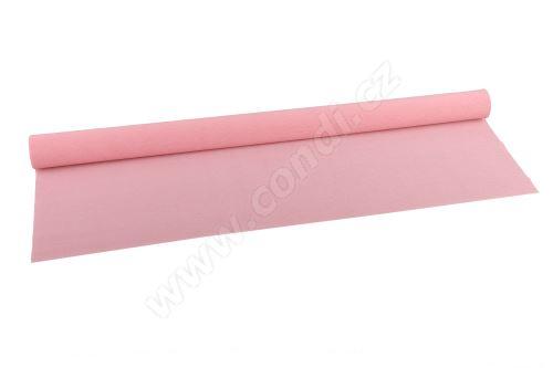 Krepový papír 90g role 50cm x 1,5m - 384 rosa