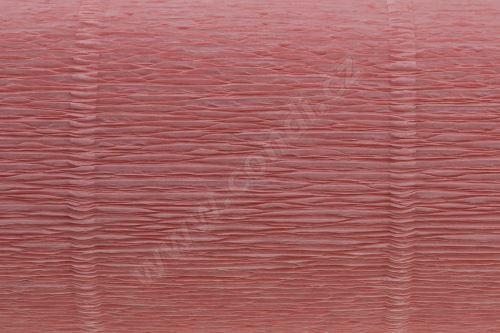 Krepový papír 180g role 50cm x 2,5m - světle růžový 20E1