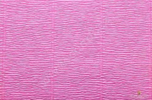 Krepový papír 180g role 50cm x 2,5m - růžový 550