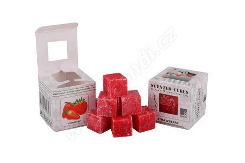 Vonný vosk do aromalamp Scented cubes - strawberry
