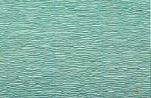 Krepový papír 180g role 50cm x 2,5m - azurový 17E/3
