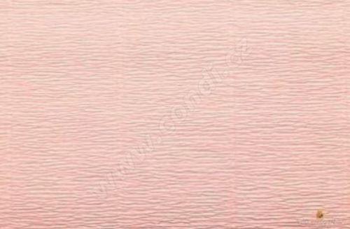 Krepový papír 180g role 50cm x 2,5m - růžový 17A3