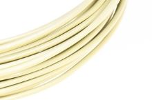 Dekorační drát hliníkový - vanilkový