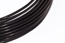Dekorační drát hliníkový - černý