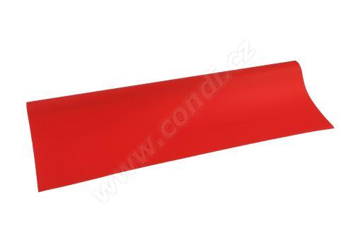 Floristická fólie 50cm x 9,1m 22 červená