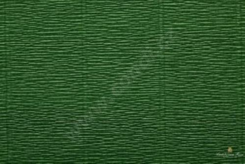 Krepový papír 180g role 50cm x 2,5m - listově zelený 591