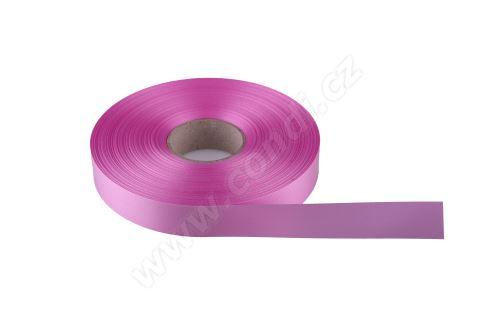 Plastová PP stuha Senza flange 6800 E line 1,9c m x 100 m - 15 světle růžová