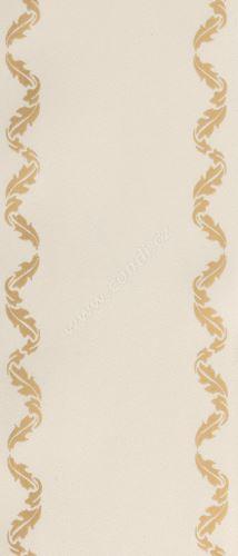 Smuteční stuha klasik s potiskem 68109 7 cm x 50 m - 25 smetanově bílá