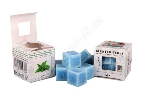 Vonný vosk do aromalamp Scented cubes - mint