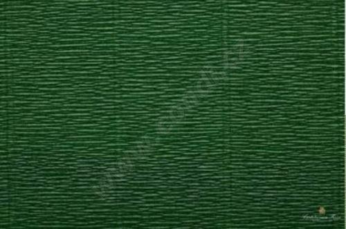 Krepový papír 180g role 50cm x 2,5m - zelený 561
