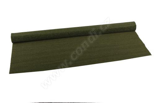 Krepový papír 90g role 50cm x 2,5m - 368 olive green