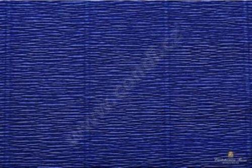 Krepový papír 180g role 50cm x 2,5m - švestkově modrý 555