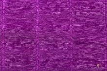 Krepový papír role 50cm x 2,5m - tm. Fialová 593