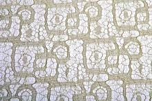 Syntetická krajka v roli Maze mesh 50cm x 4,6m ME347 6-ŠAMPAŇ