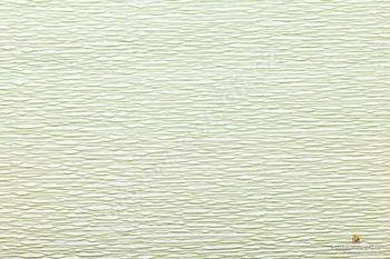 Krepový papír role 50cm x 2,5m - sv. zelená 566