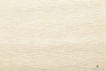 Krepový papír role 50cm x 2,5m - krémový 17A1