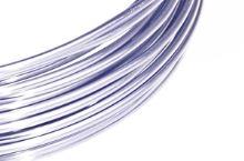 Dekorační drát hliníkový - sv. šeříkový