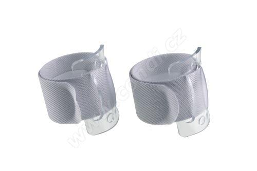 Svatební zápěstní náramek samoovíjecí 2ks/bal bílý
