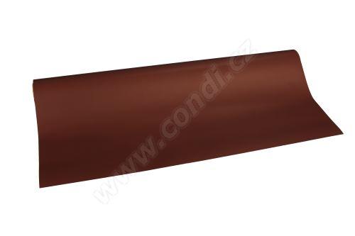 Floristická fólie 50cm x 9,1m 19 čokoládová