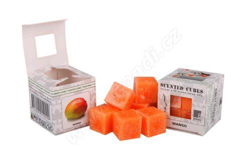 Vonný vosk do aromalamp Scented cubes - mango