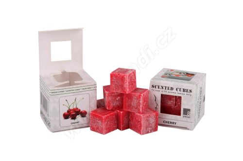 Vonný vosk do aromalamp Scented cubes - cherry