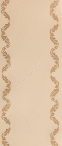Smuteční stuha klasik s potiskem 68109 5 cm x 50 m - 22 krémová