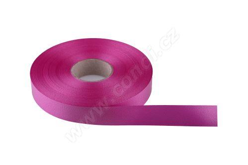 Plastová PP stuha Senza flange 6800 E line 1,9 cm x 100 m - 13 cyklámenová