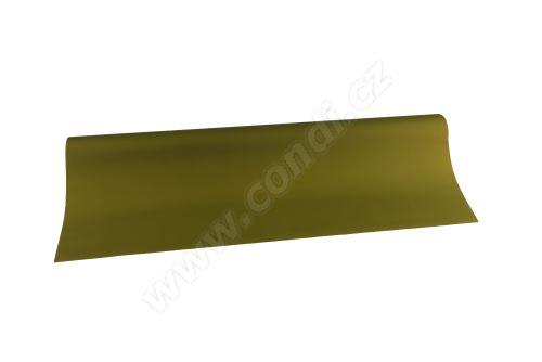 Floristická fólie 50cm x 9,1m 10 tmavě olivová