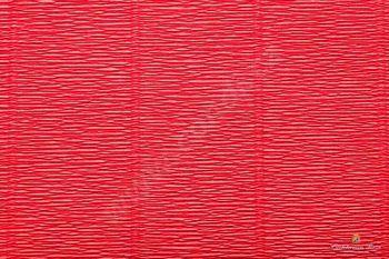Krepový papír 180g role 50cm x 2,5m - červená 580