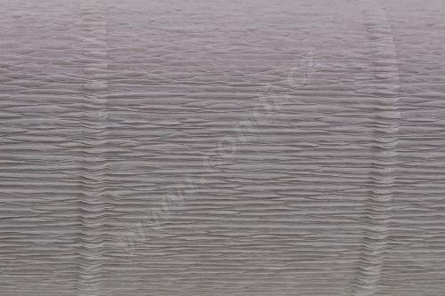 Krepový papír 180g role 50cm x 2,5m - světle šedý 20E7