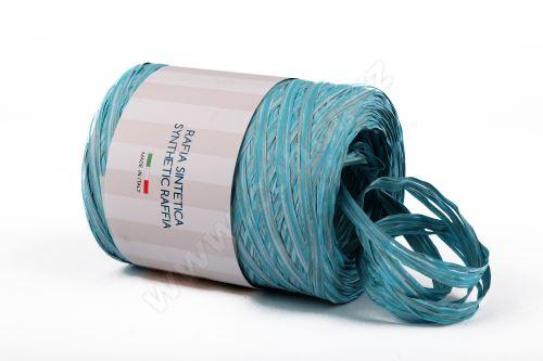 Stuha poly rafie vintage 68181 5mm x 200m - 06 sv. modrá