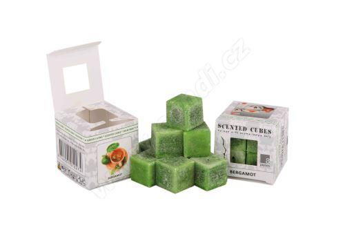 Vonný vosk do aromalamp Scented cubes - bergamot
