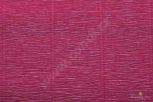 Krepový papír 180g role 50cm x 2,5m - tmavě červený 584
