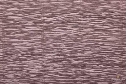 Krepový papír 180g role 50cm x 2,5m - šedý 604