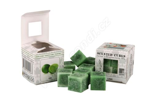 Vonný vosk do aromalamp Scented cubes - lime