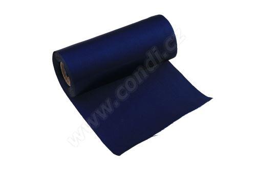 Saténová role 12cm x 9,1m 44 - modrá