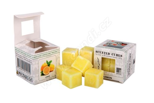 Vonný vosk do aromalamp Scented cubes - lemon