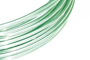 Dekorační drát hliníkový - pasteově mátový