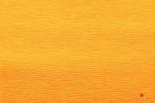 Krepový papír role 50cm x 2,5m - tmavě žlutý 17E/5
