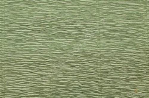 Krepový papír 180g role 50cm x 2,5m - zelený 17A8