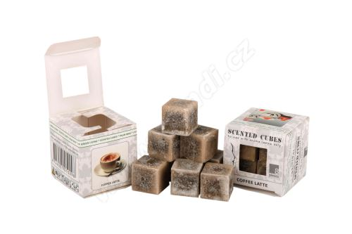 Vonný vosk do aromalamp Scented cubes - coffee latte