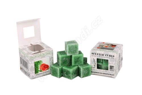 Vonný vosk do aromalamp Scented cubes - bamboo & grapefruit