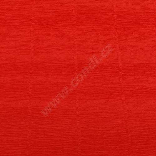 Krepový papír 180g role 50cm x 2,5m - světle červený 618