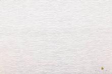 Krepový papír role 50cm x 2,5m - bílá 600