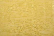 Vlizelín dekorativní a aranžerský s glitrem 12,5cm ZLATÝ