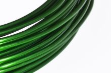 Dekorační drát hliníkový - zelený
