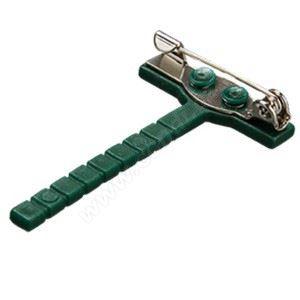 Klip do klopy zelený - 50 ks
