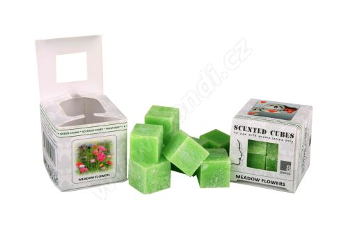Vonný vosk do aromalamp Scented cubes - meadow flowers